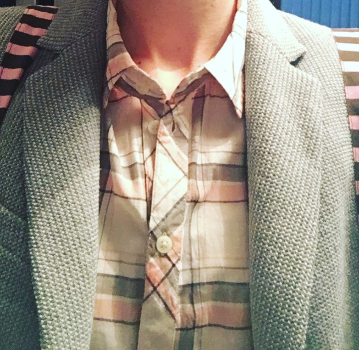 This checked shirt was ideal. It was light, long but also looked beautiful on. I PICKED this up from marks and spencer near me.