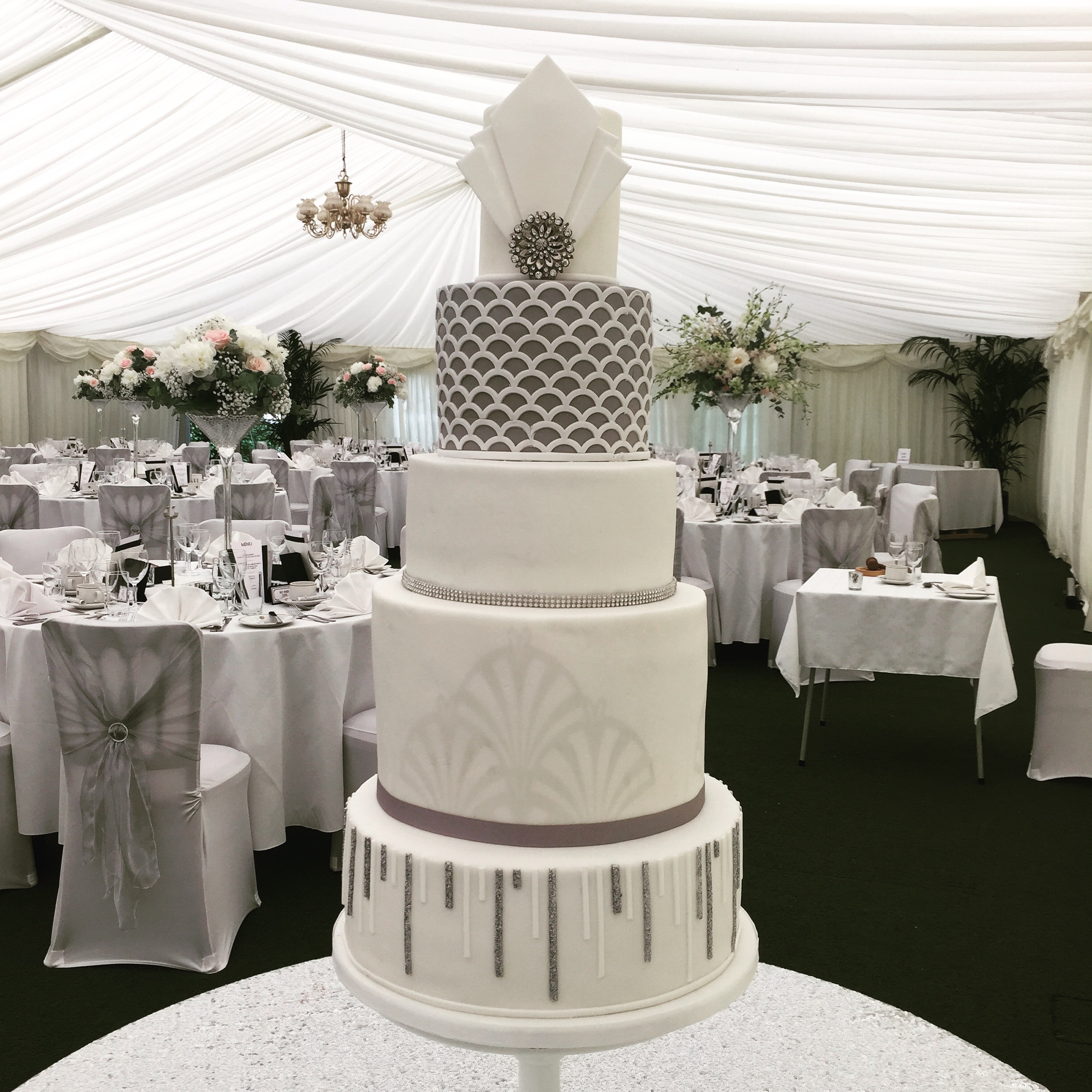 """""""WONDERFUL!Had I seen this on the internet I would have said it was """"the one"""" We were blown away by the cake. Thank you so much xxx""""    Susie & Steve"""