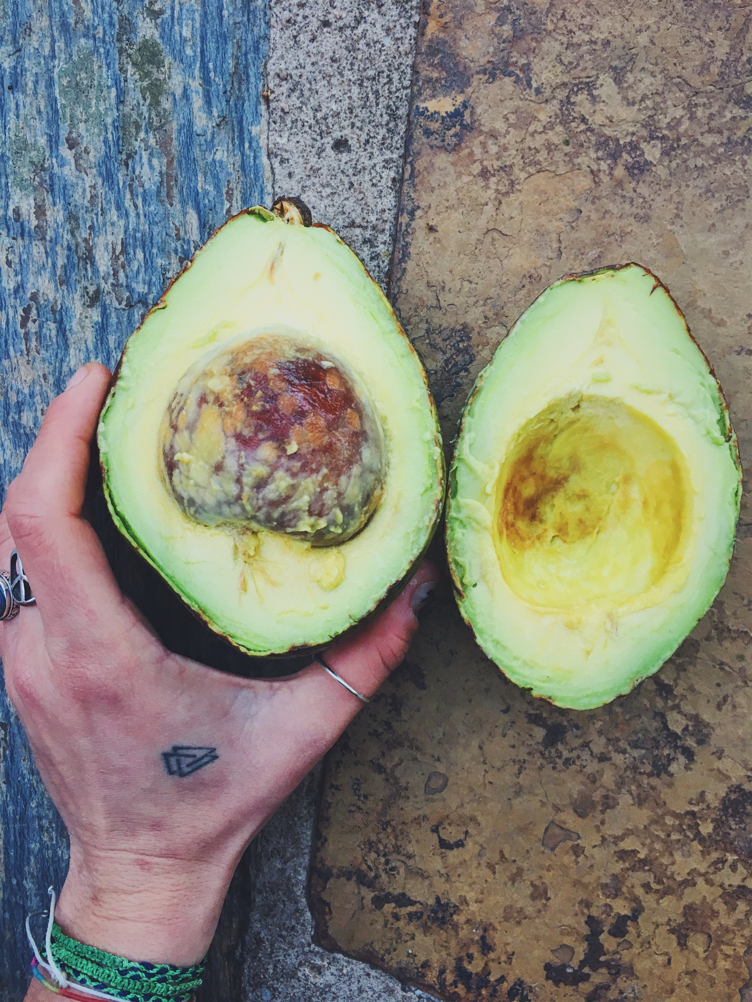 A big, buttery, Durban-born avocado never looked this good.