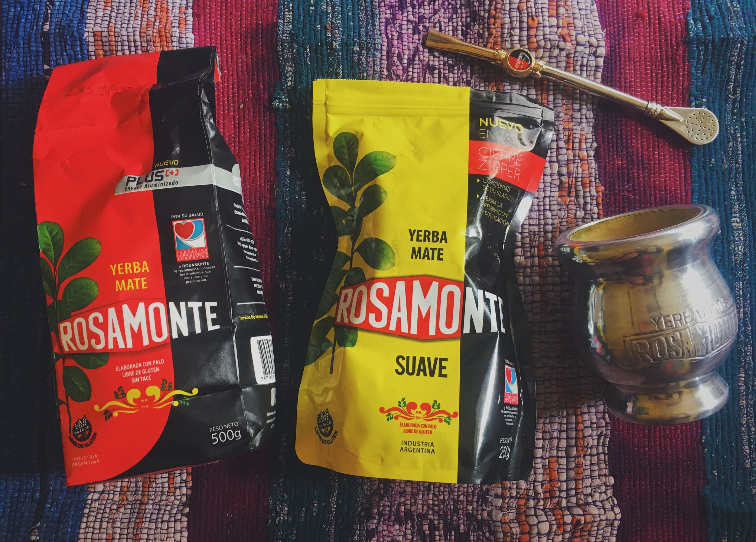 Thanks for the  Roamonte Plus Traditional ,  Rosmonte Suave ,   Wooden Rosamonte Cup    and    19cm Rosamonte bombilla   !