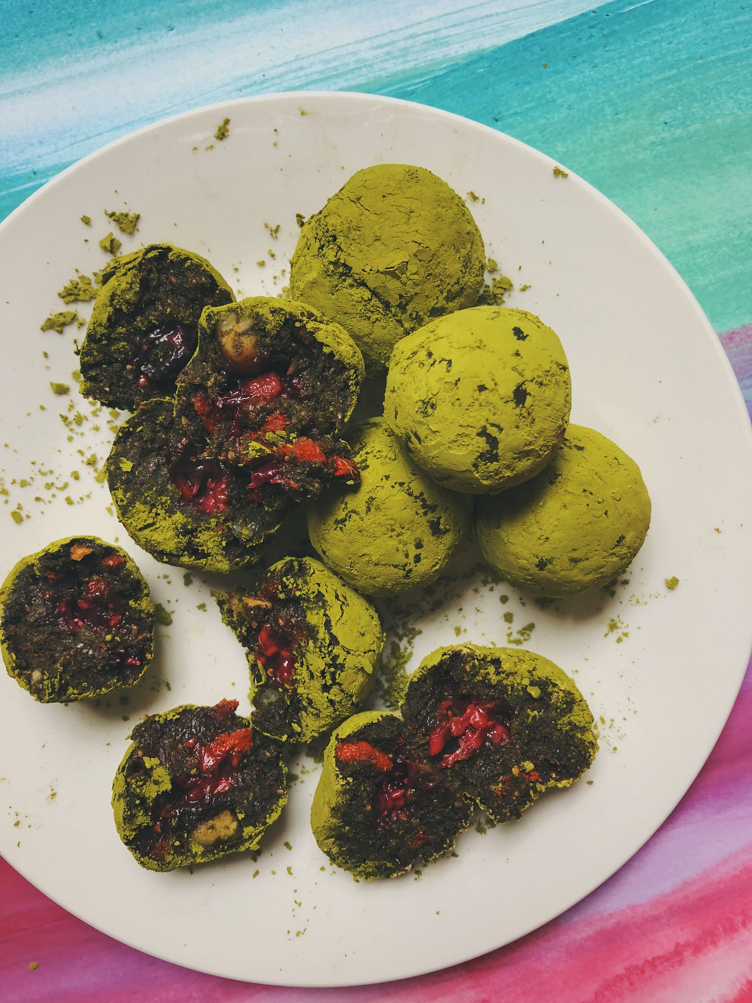 Best enjoyed with a matcha latte just before you head off for a hike :)