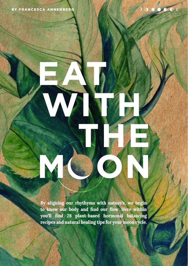 Eat With The Moon E-Book Front Cover