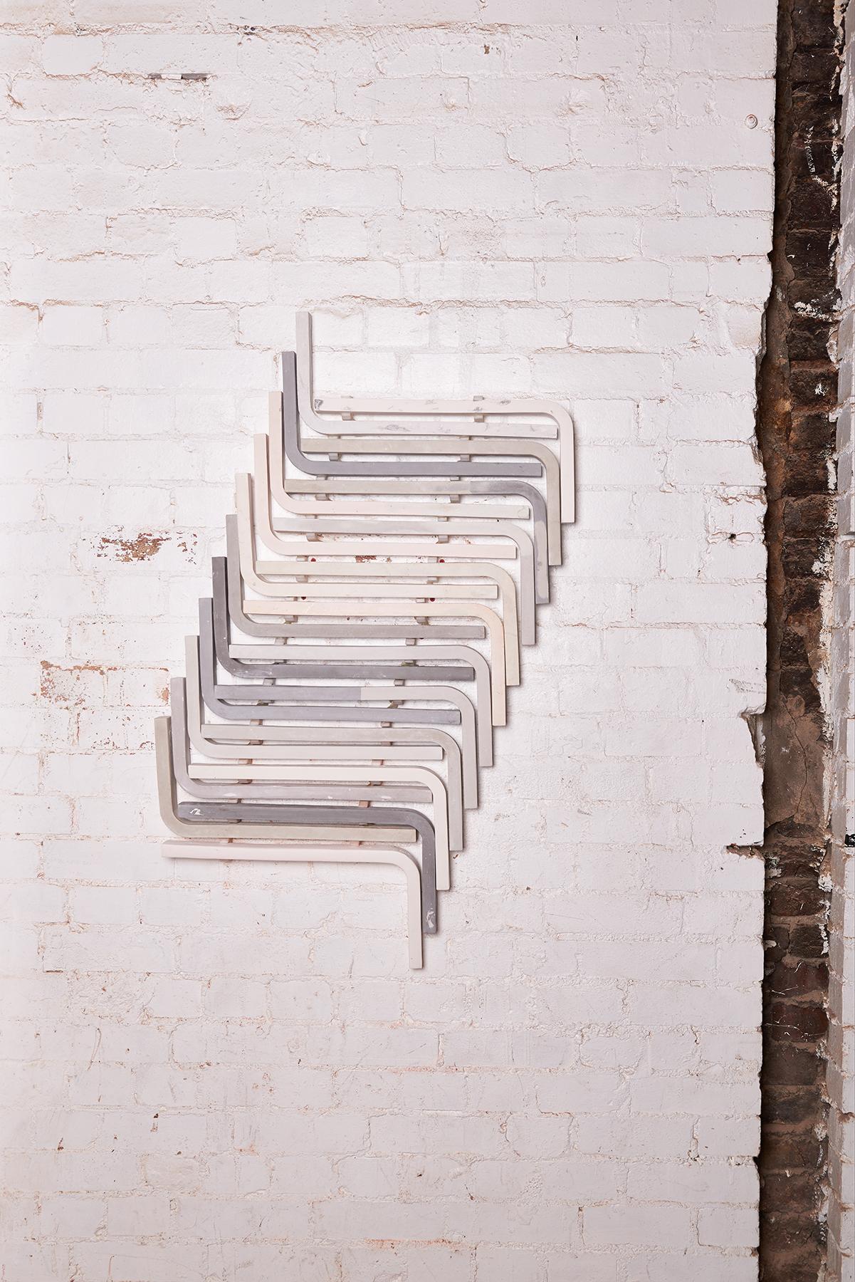 Untitled (Ikea Stools) 2015,Nika Neelova