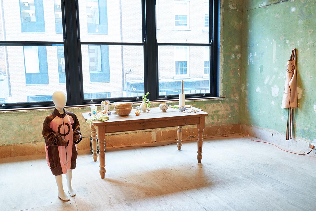 The Jockey,  performance installation Aniela Piasecka and Paloma Proudfoot