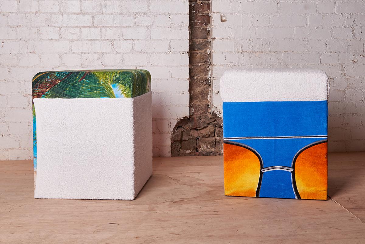 Untitled stools 2016 , Freddy Tuppen