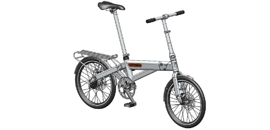 Folding Bike Frame Design for Prototyping