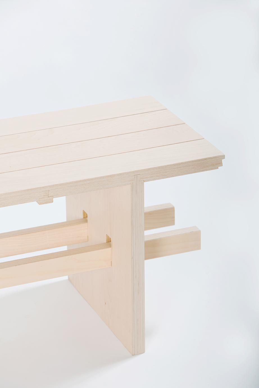 Milano bench   - Francesc Gasch Studio