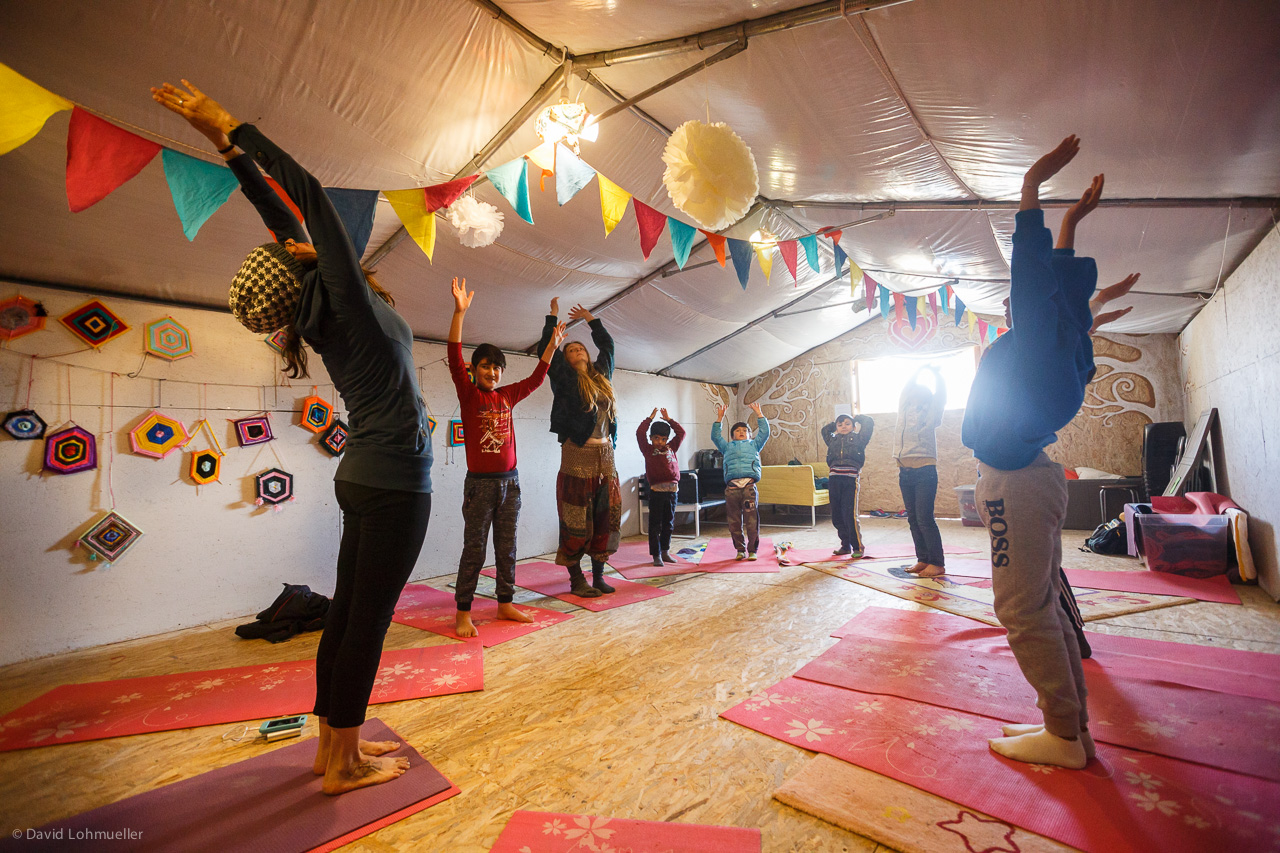 CHILD-FRIENDLYSPACE - - Supervised activities- Educational activities- Yoga and other trauma-informed activities