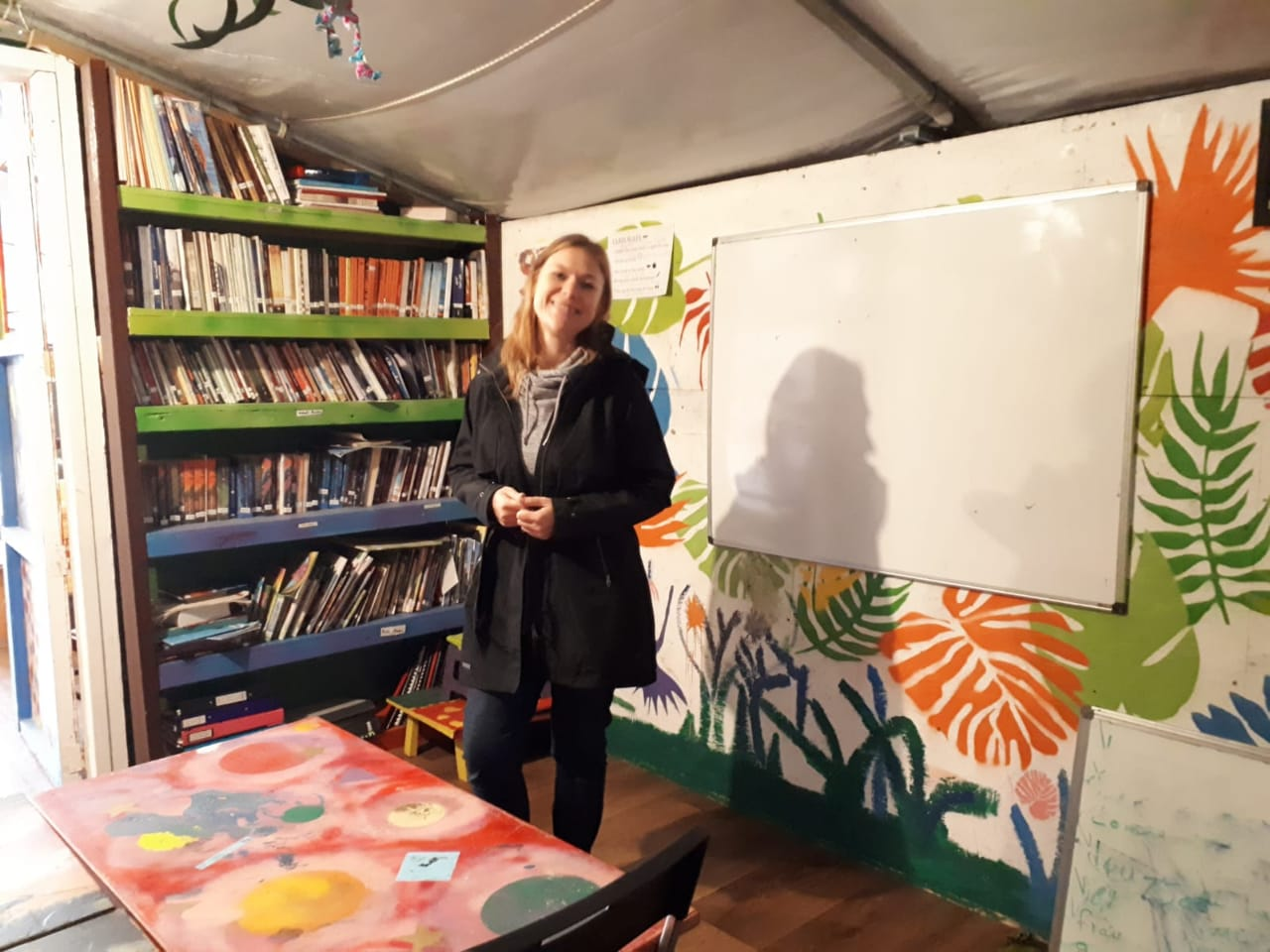 This is Ally, LHI Refugee Centre Education Manager