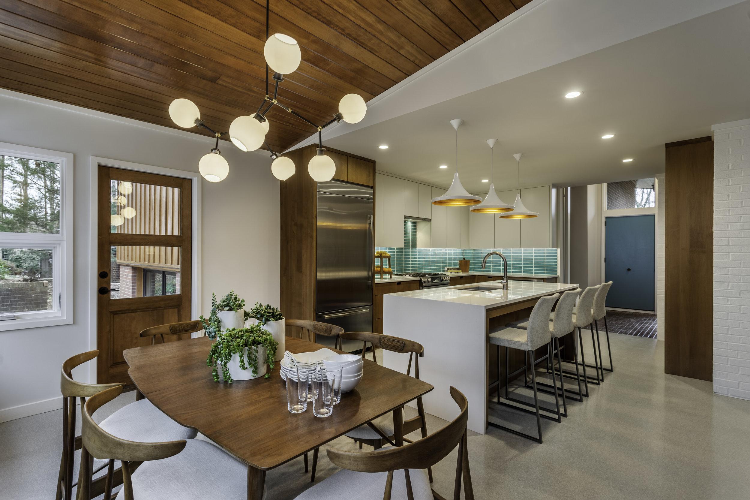 TAW Mid Century Kitchen