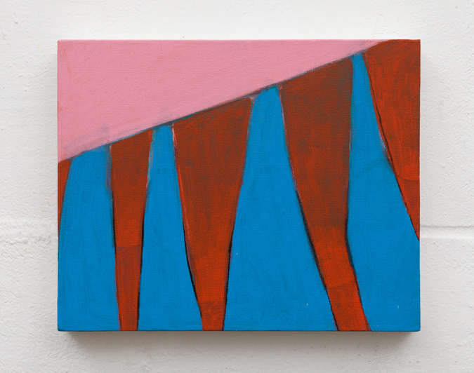 Red study  acrylic on canvas  24cm x 30cm  2016