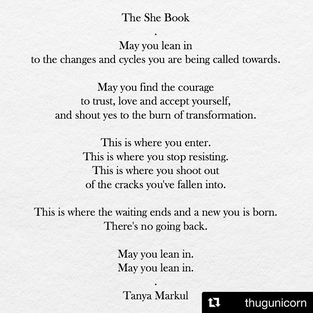 To all my warriors shedding parts of their selves that no longer serve them. 💪🙏💕. #theshebook @thugunicorn