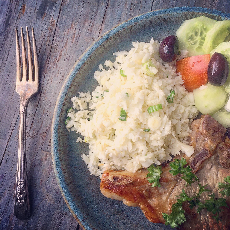 Cauliflower Rice & Bone Broth recipe made with bone broth created by Bone Brewhouse.