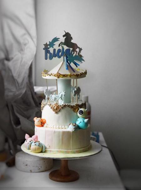 Carousel Theme Cake