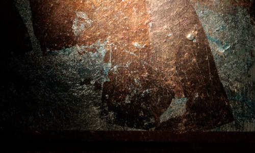 Copper Bronze Silver Leaf M012