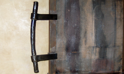 Project: cast bronze door handle