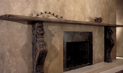 Project: custom wall - stucco