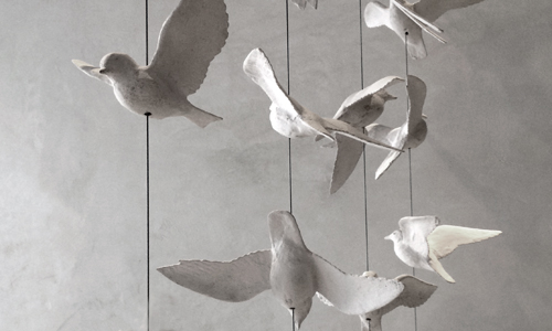 Project: cementiTious bird - Stone Sculpture