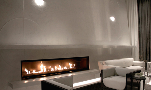 Project: seamless limestone Carrara wall