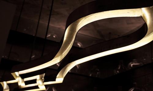 CUSTOM LIGHTING - Master Materials NYC FABRICATION STUDIO