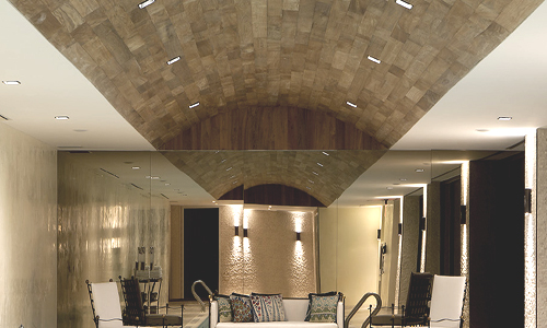 Project: Wood ceiling