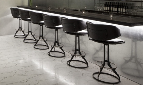 Project: Custom Furniture - Metal barstools