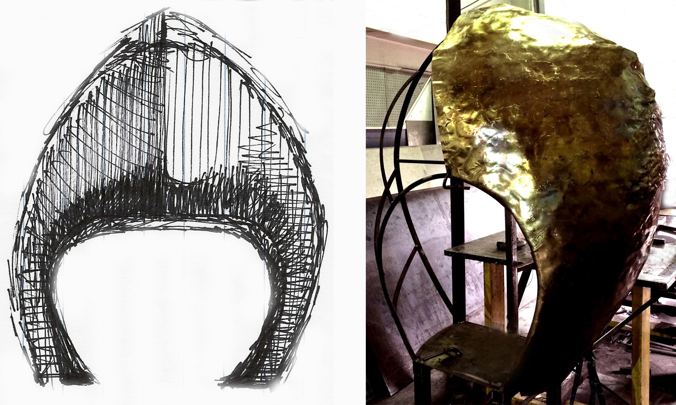 Architectural fabrication - Custom Fireplace.jpg