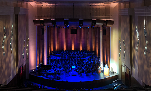 pROJECT: CUSTOM PENDANT LIGHTING FOR THE MANHATTAN SCHOOL OF MUSIC