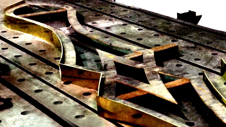 Project: Bronze bar pendant