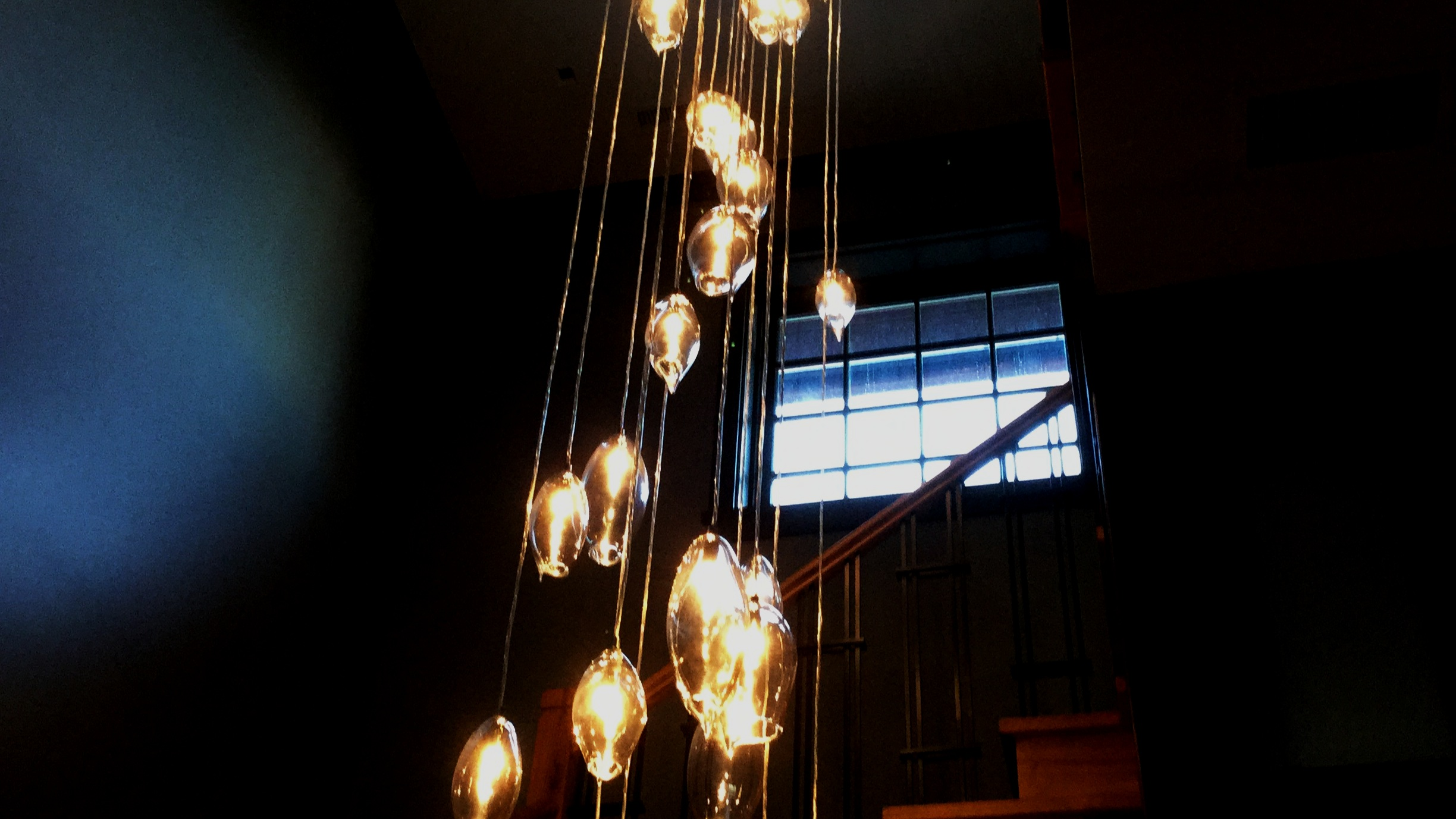 pROJECT: cUSTOM PENDANT CHANDELIER FOR NADLER aRCHITECTS