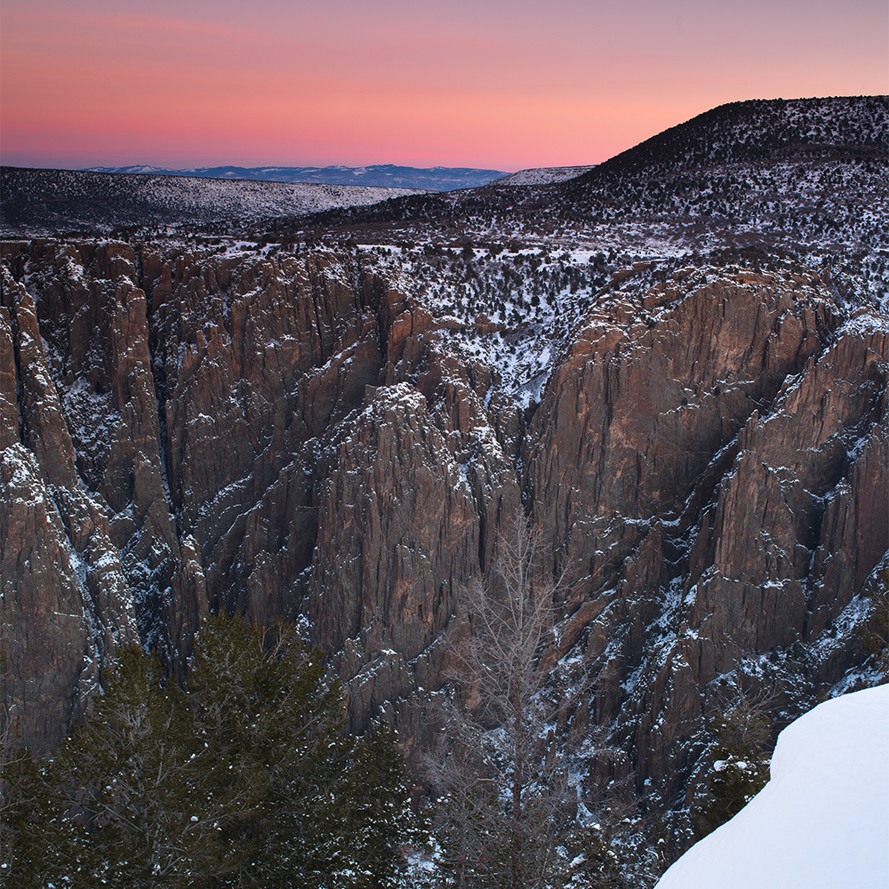 Black Canyon of the Gunnison © Robert Lowdon