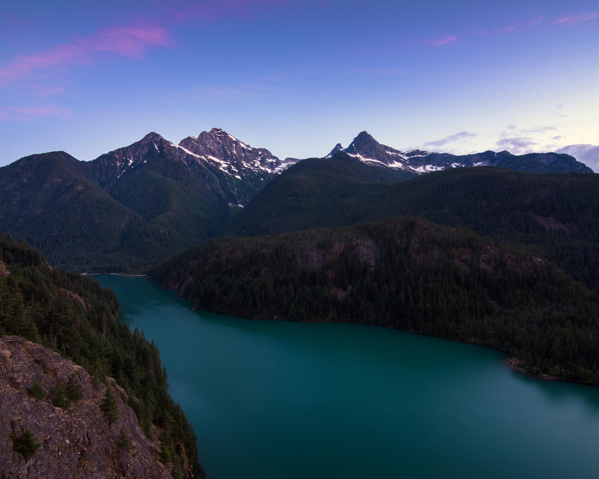 North Cascades National Park, Washington, USA.