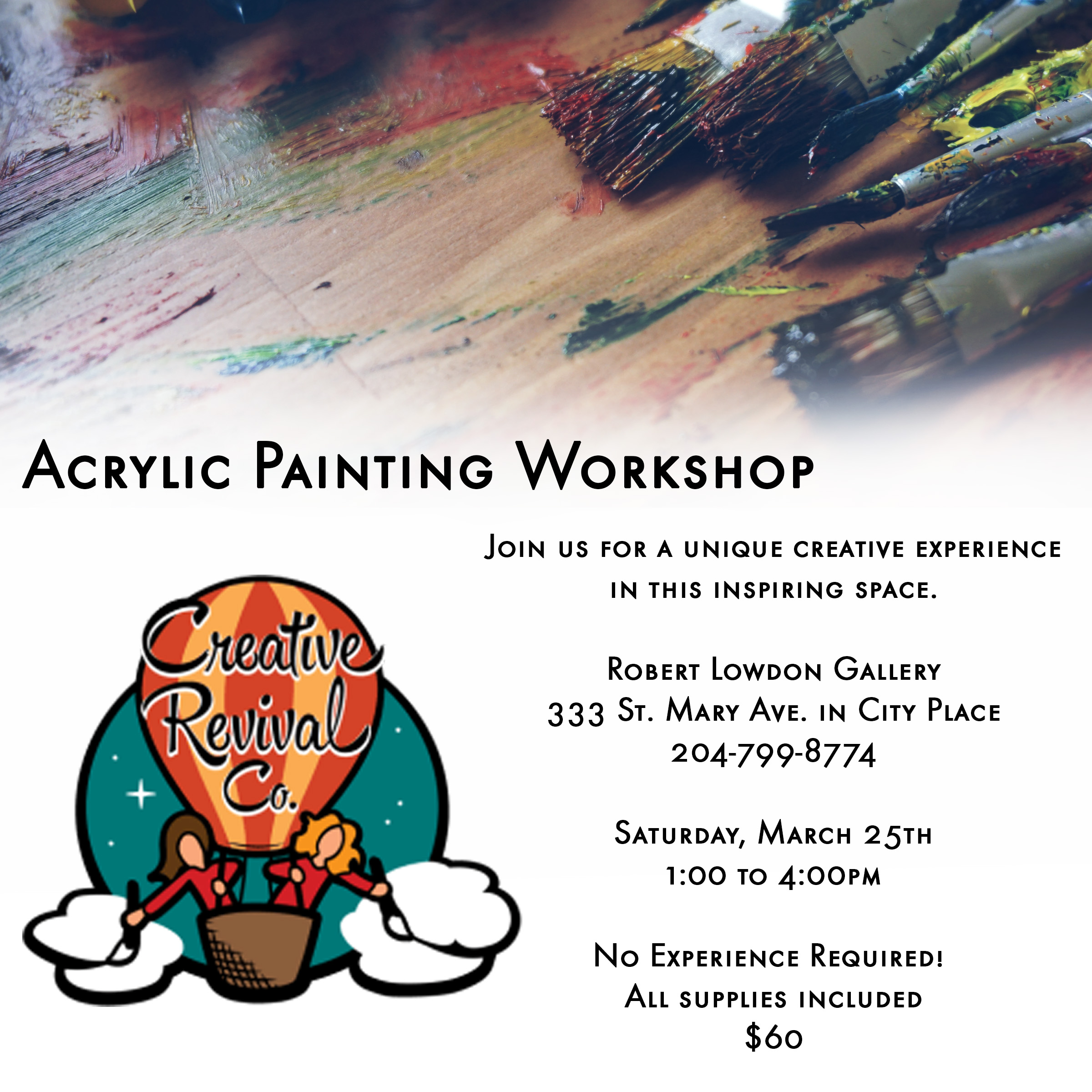 Artist Workshop Winnipeg
