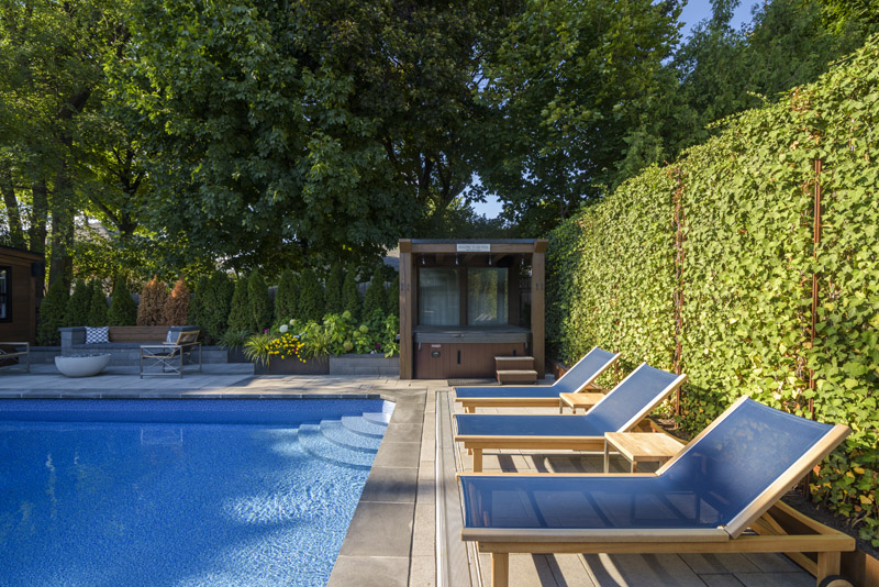 A backyard view for a landscape architect © Robert Lowdon