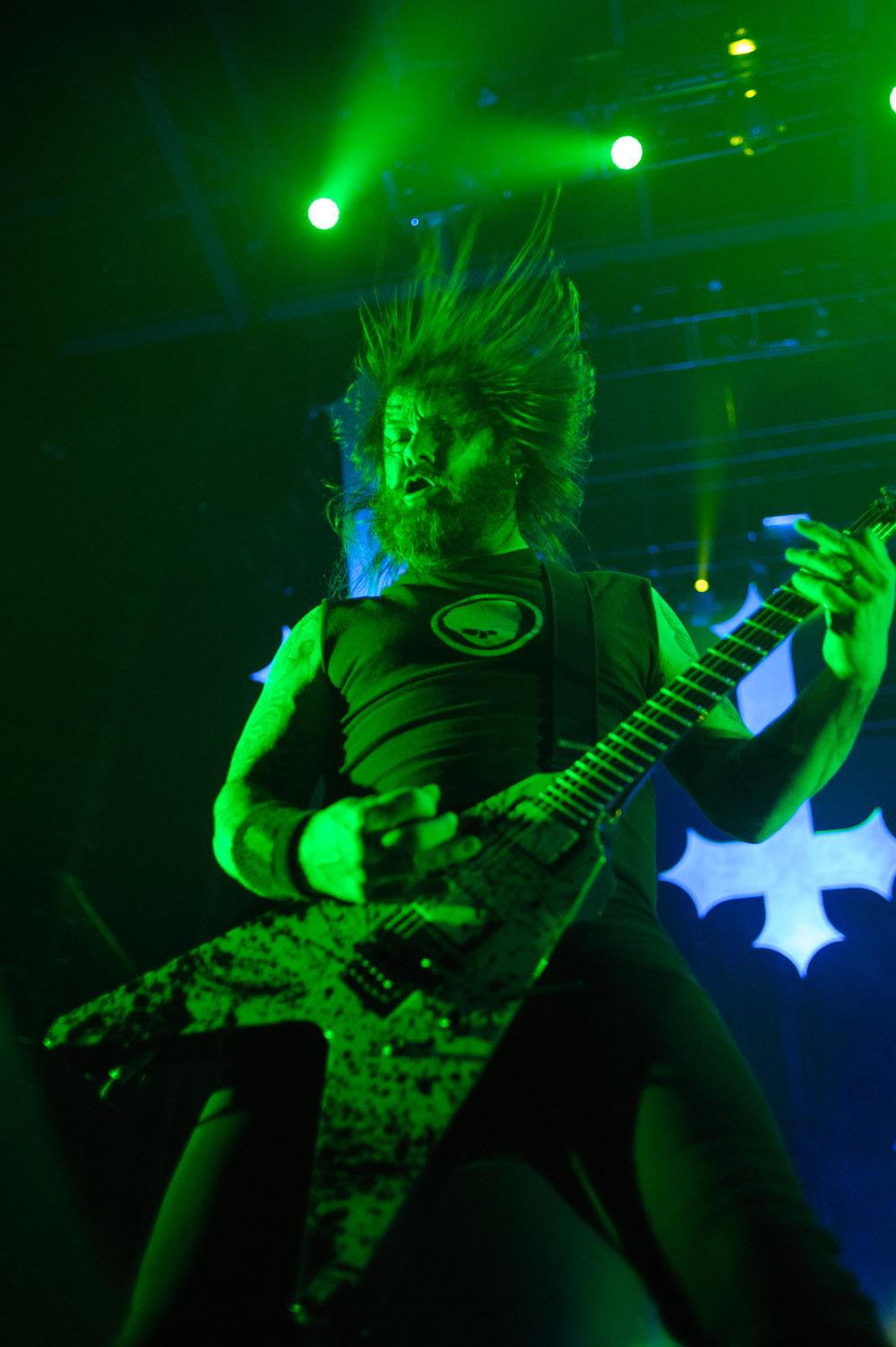 Gary Holt, guitar Slayer © Robert Lowdon