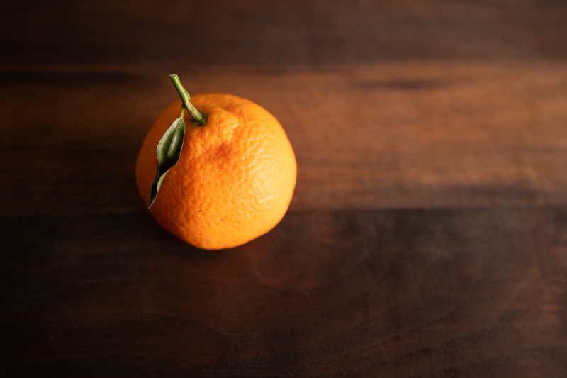 An orange © Robert Lowdon