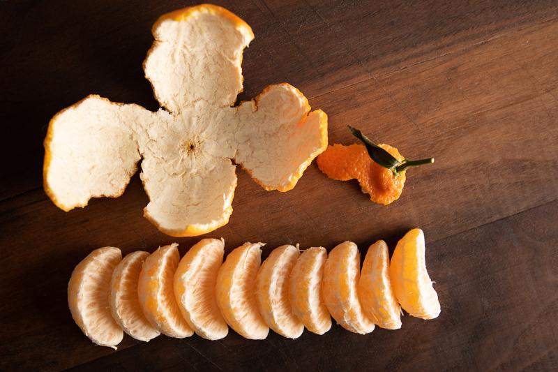 Orange Peel and Pieces