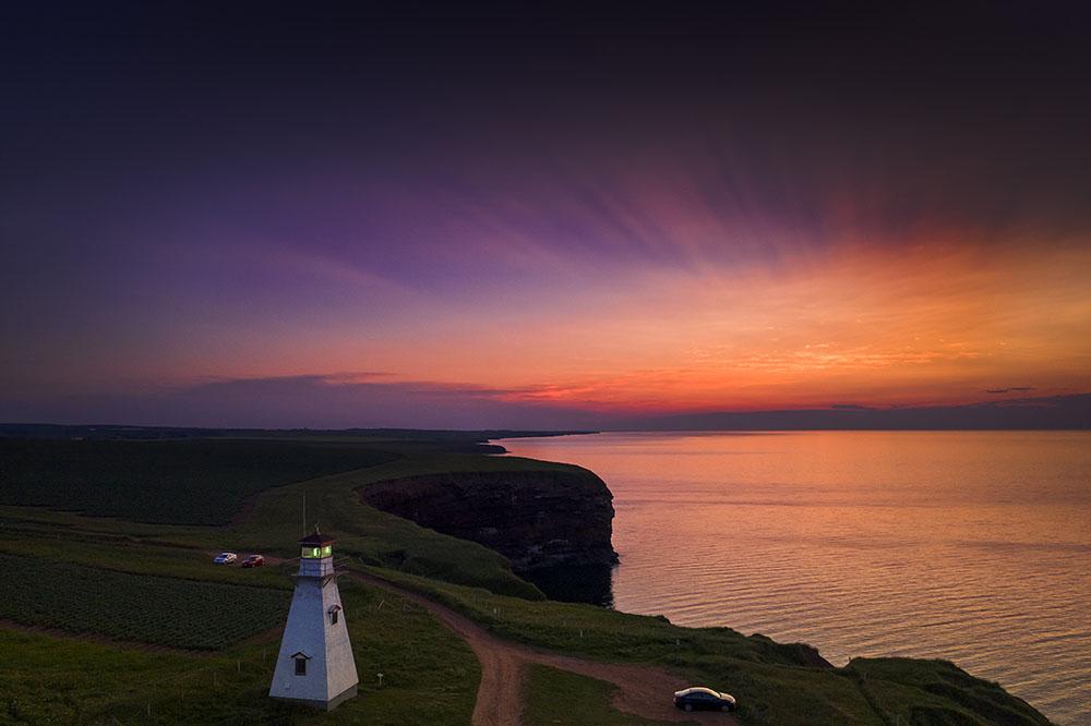 After sunset on PEI. © Robert Lowdon
