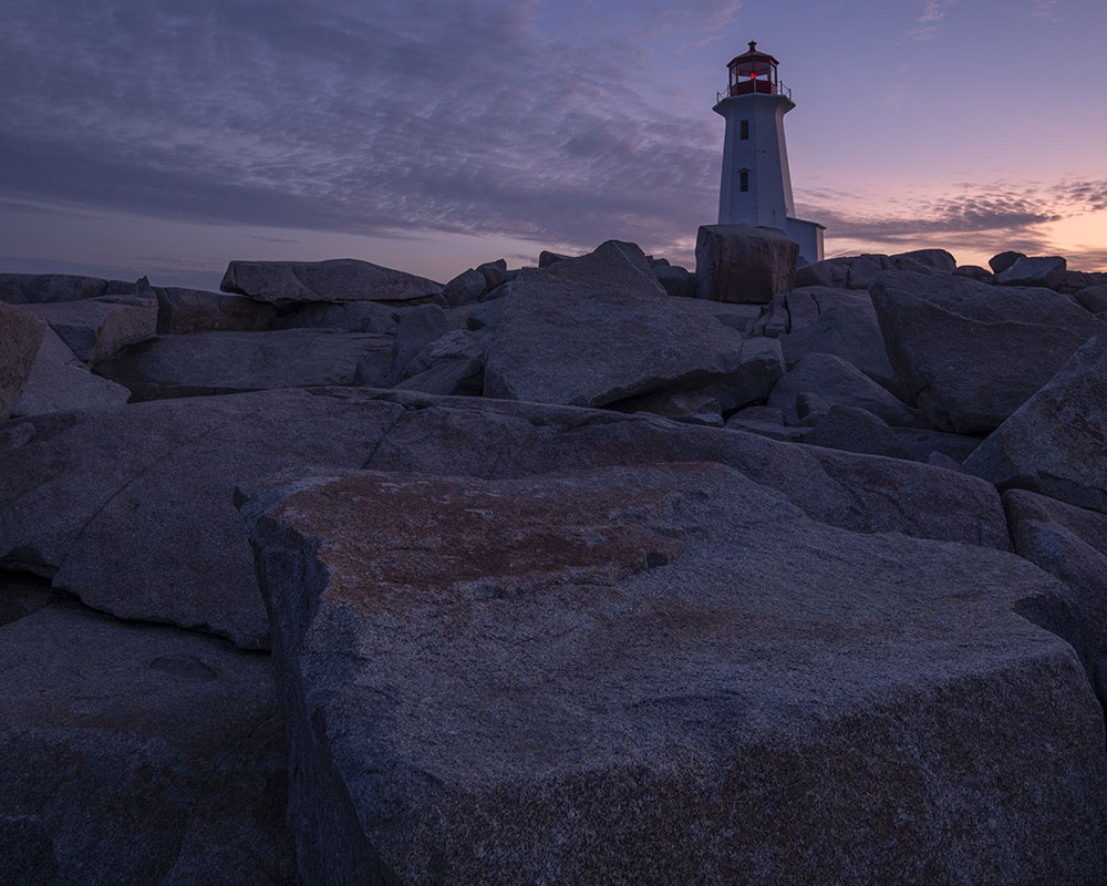 Rocks at Peggys Cove. © Robert Lowdon
