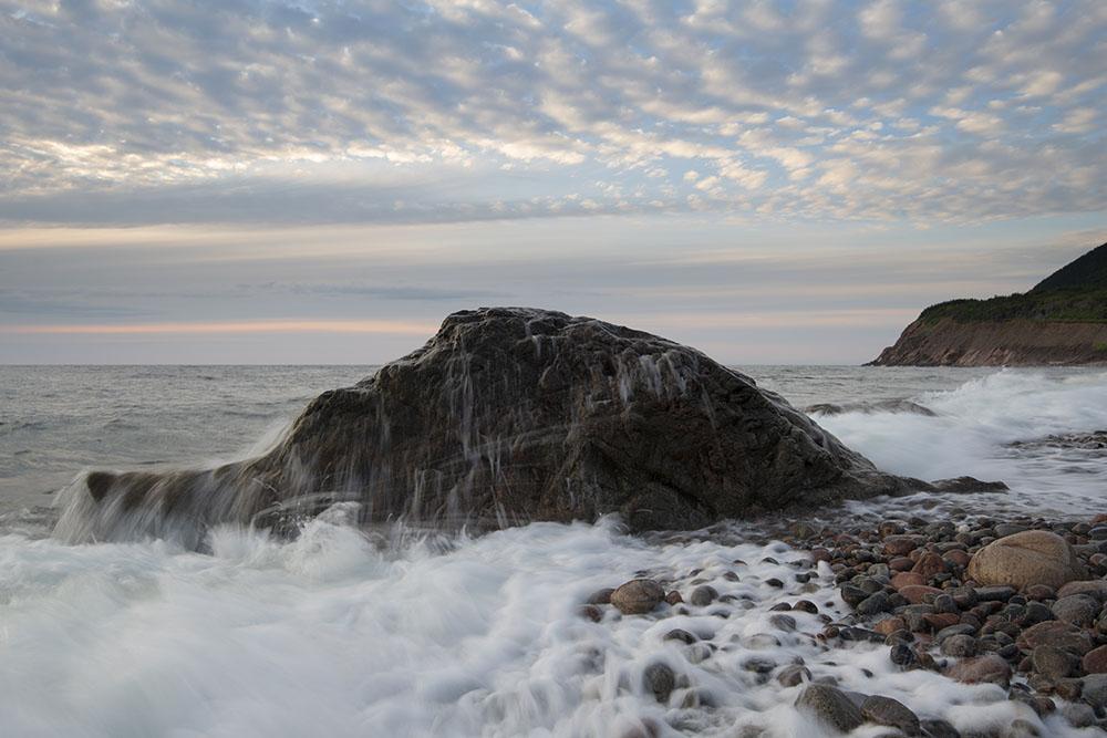 Waves on the Atlantic. © Robert Lowdon