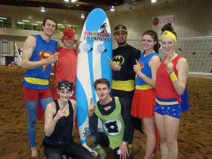 Sun of a Beach co-ed beach volleyball tournament champs last year. (Facebook / Craig Lowe)