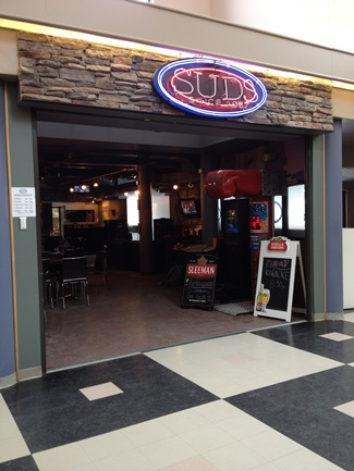 File photo. Brandon University's Students' Union Drinking Spot (SUDS) in the Knowles-Douglas Building. (Holly Kalyniuk / The Quill)