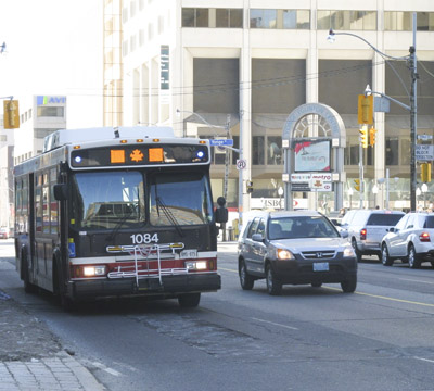 File photo. Brandon Public Transit is introducing a new pilot program to begin on September 8th that allows commuters access to the bus on Sundays. (Yes, we know, it's in Toronto.) (Danielle Scott / Flickr)
