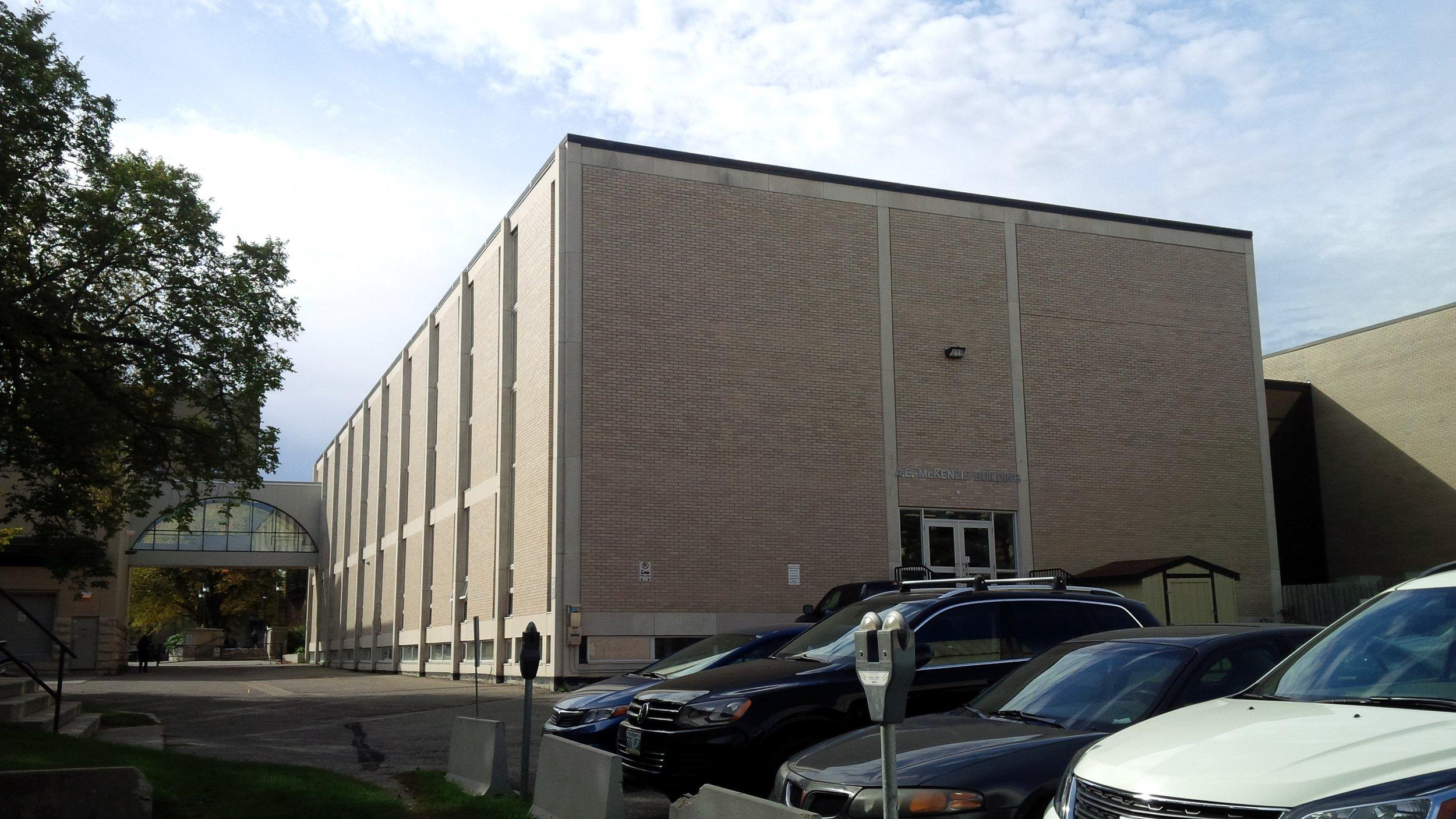 The A. E. McKenzie building, home of Student Services. (Logan Praznik/The Quill)