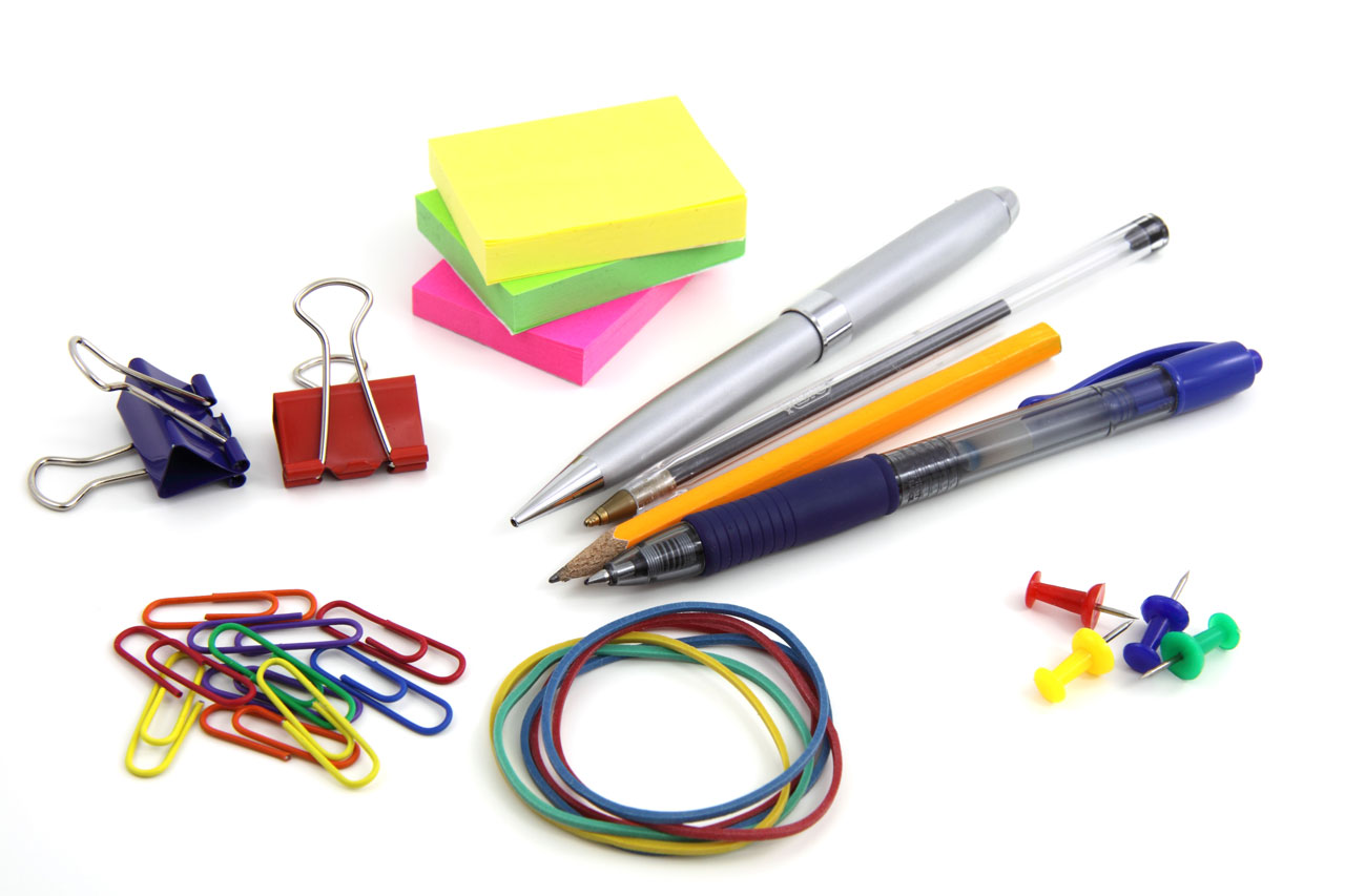 Some more conventional school supplies. (Petr Kratochvil/Public Domain Pictures)
