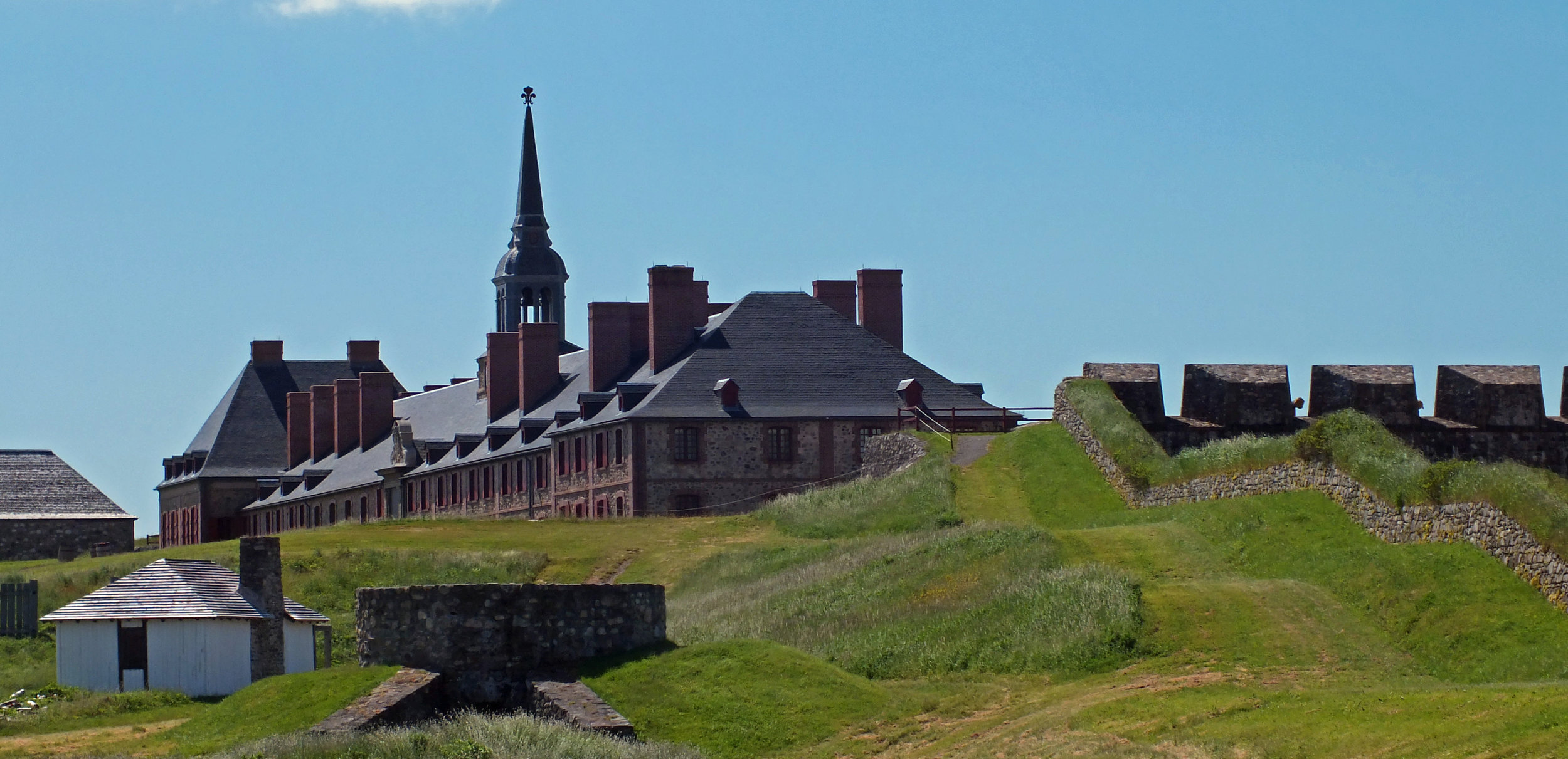 The Fortress of Louisbourg. (Lukester878/Wikimedia Commons under  CC-BY-SA 3.0 )