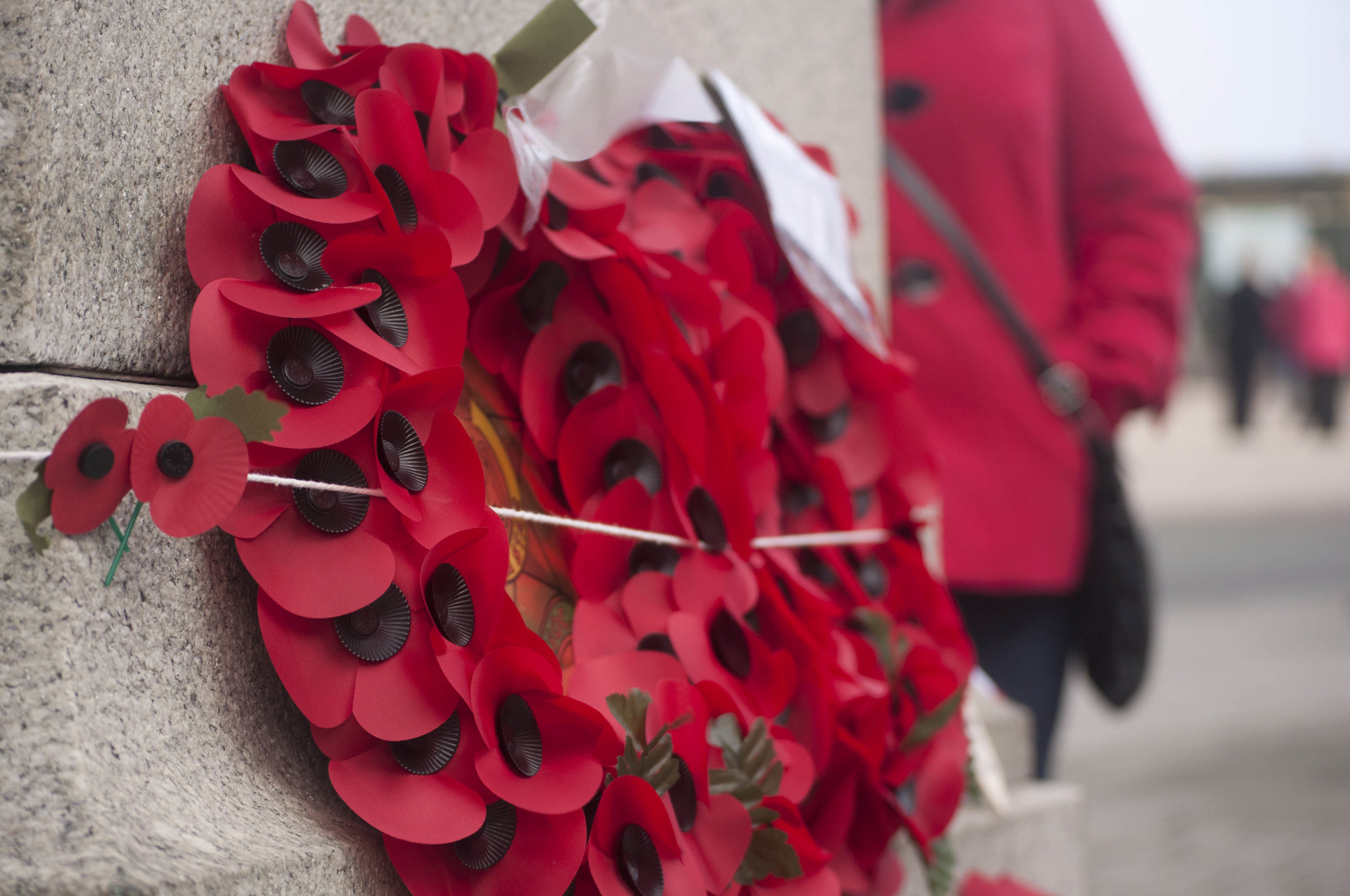A wreath of poppies. (Lauren Turner/Flickr under  CC BY 2.0 )