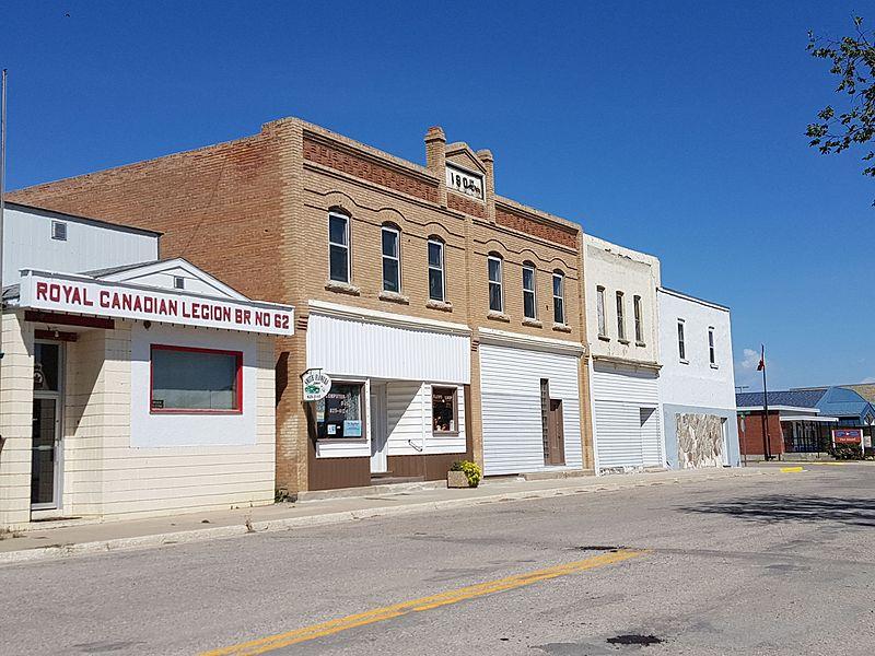 Crystal City, Manitoba. (Krazytea/Wikimedia Commons under  CC BY-SA 4.0 )