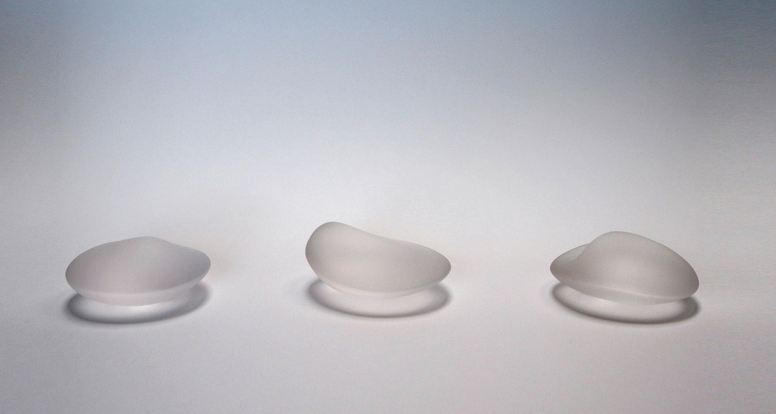 Leila Du Mond Transferred Touch contemporary art glass