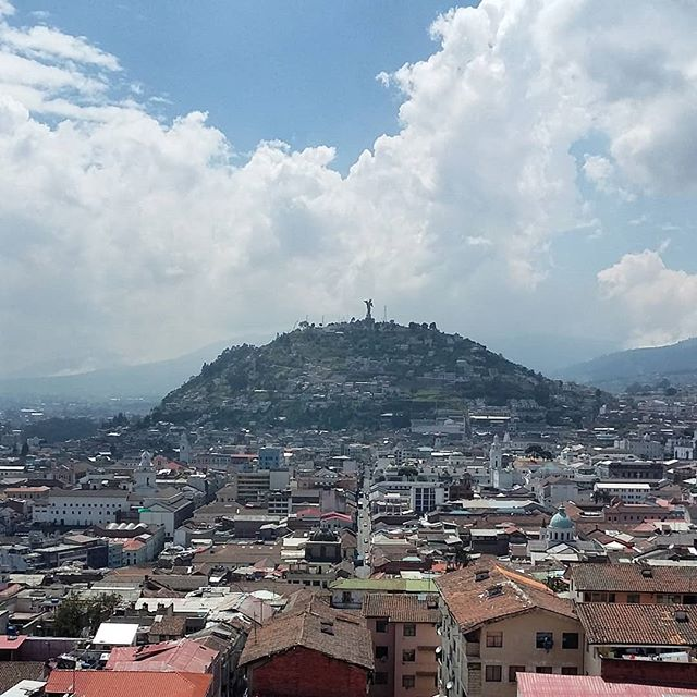 Hola Quito! - 2850m asl - Second highest capital city in the world after La Paz - 2.7 million inhabitants  #quito #ecuador #oldcity #view #travel #travelphotography #travelgram #instatravel #instamood #instadaily #blog  #travelblogger  Photo © by patrickacquadro.com